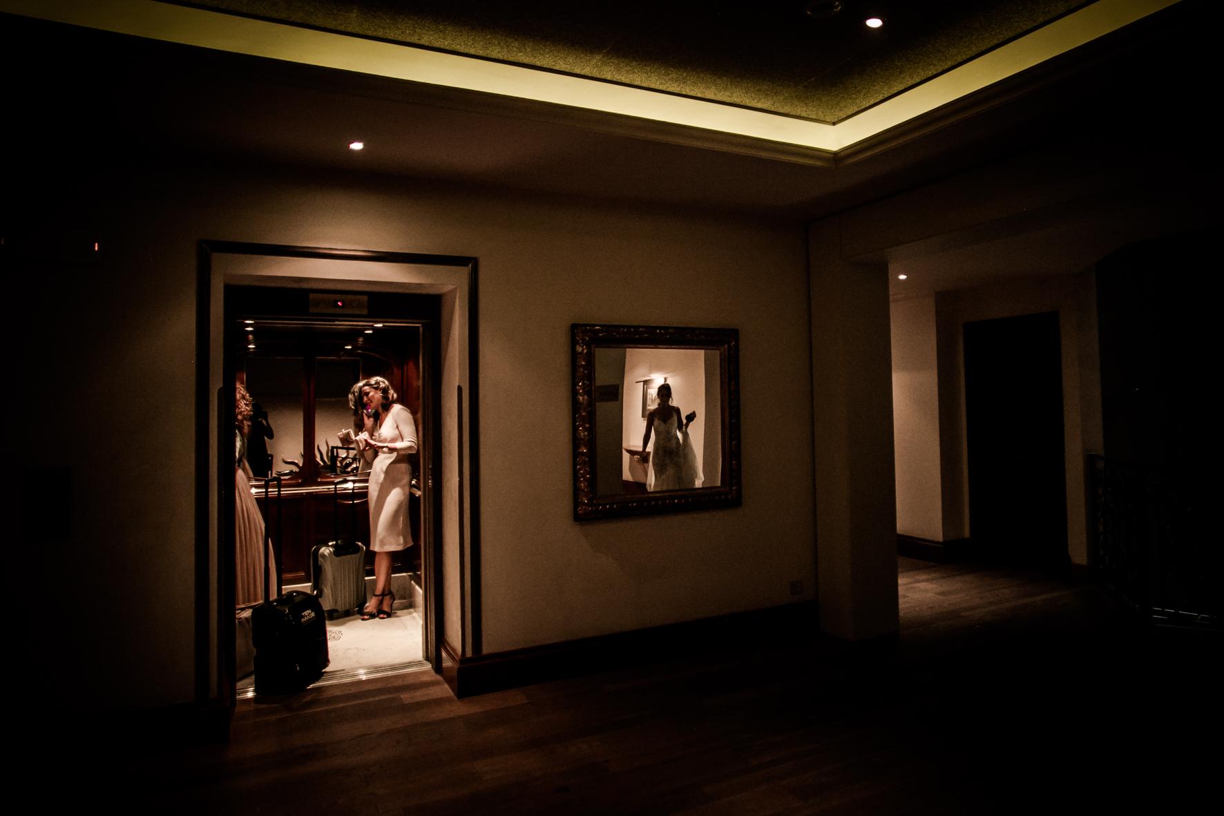 Gran Hotel la Florida Barcelona bride