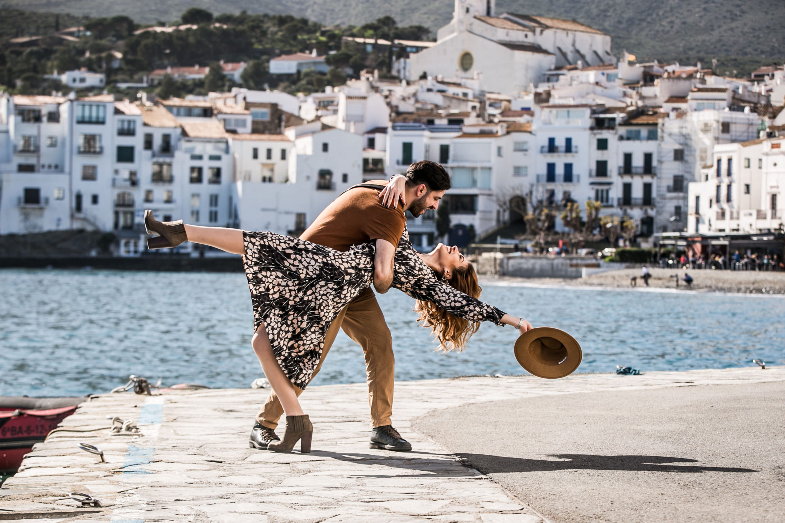 engagement in Cadaques